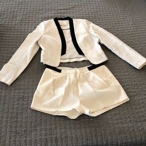 aryn K. Short/Blazer Set